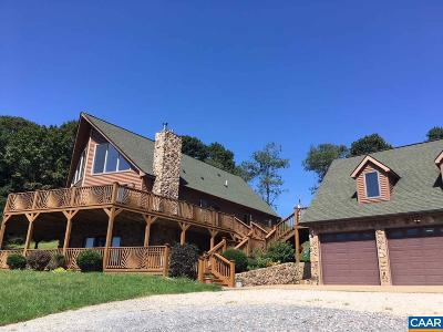 Nelson County Single Family Home For Sale: 16422 Crabtree Falls Hwy