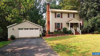 Charlottesville Single Family Home For Sale: 2735 Leeds Ln