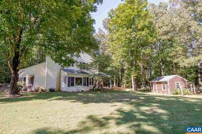 Albemarle County Single Family Home For Sale: 6634 Esmont Rd