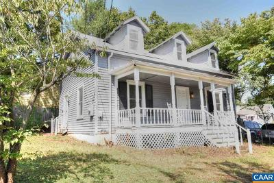 Charlottesville Single Family Home For Sale: 1517 E High St