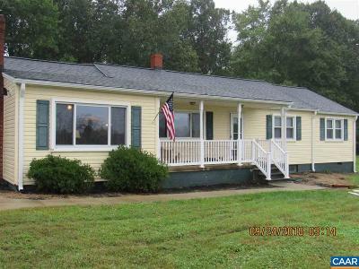 Single Family Home For Sale: 6632 James Monroe Hwy