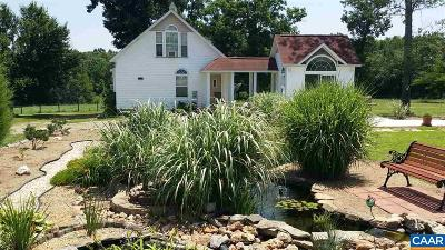 Louisa Single Family Home For Sale: 151 Ccc Rd