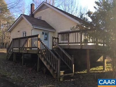 Fluvanna County Single Family Home For Sale: 2591 Gold Mine Rd