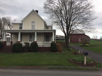 Rockingham County Single Family Home For Sale: 1521 Muddy Creek Rd
