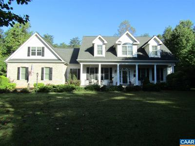Fluvanna County Single Family Home For Sale: 62 Taylor Ridge Way