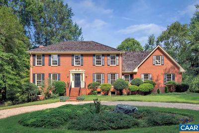 Earlysville Single Family Home For Sale: 560 Arrowhead Dr