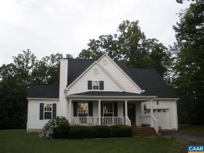 Scottsville VA Single Family Home For Sale: $350,000