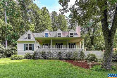 Albemarle County Single Family Home For Sale: 4375 Taylor Creek Rd #A