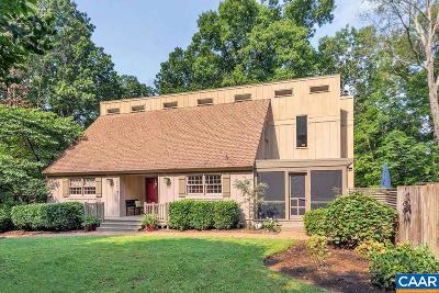 Charlottesville Single Family Home For Sale: 2640 Milton Hills Dr