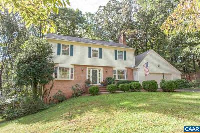 Charlottesville Single Family Home For Sale: 525 Eastbrook Dr