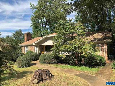 Charlottesville Single Family Home For Sale: 1623 Trailridge Rd