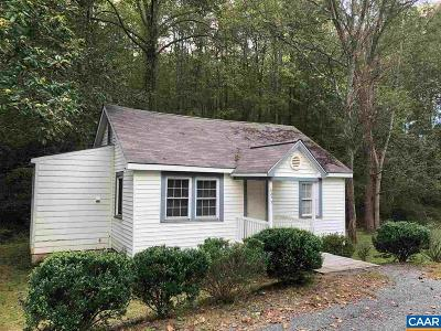 Albemarle County Single Family Home For Sale: 6473 Plank Rd