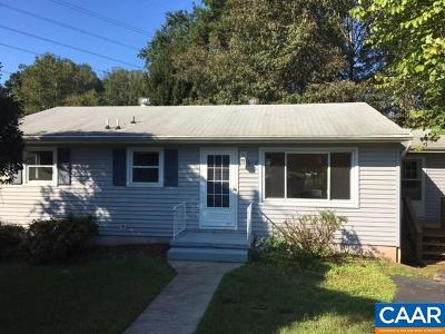 Charlottesville Single Family Home For Sale: 618 Elizabeth Ave