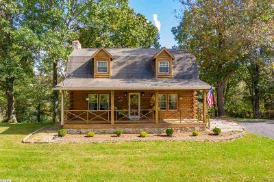 Staunton Single Family Home For Sale: 361 Berry Farm Rd