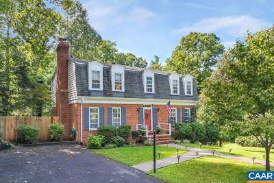 Charlottesville Single Family Home For Sale: 2513 Smithfield Rd