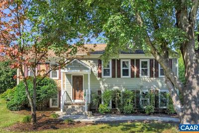 Charlottesville Single Family Home For Sale: 1720 Goldentree Pl