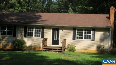 Louisa Single Family Home For Sale: 50 Ivy Lane
