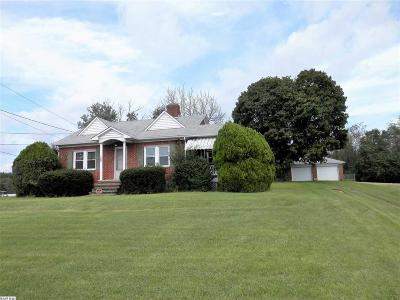 Augusta County Single Family Home For Sale: 1262 Jefferson Hwy