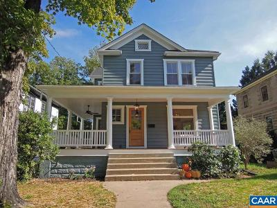 Charlottesville Single Family Home For Sale: 516 Lexington Ave