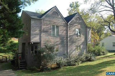 Charlottesville Single Family Home For Sale: 704 St Charles Ave #A & B