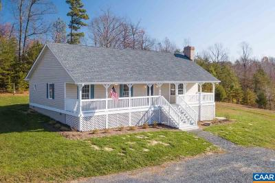 Fluvanna County Single Family Home For Sale: 3500 Kidds Dairy Rd