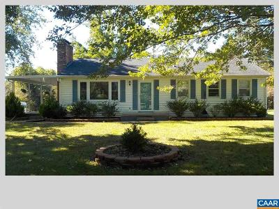 Greene County Single Family Home For Sale: 285 Cedar Grove Rd