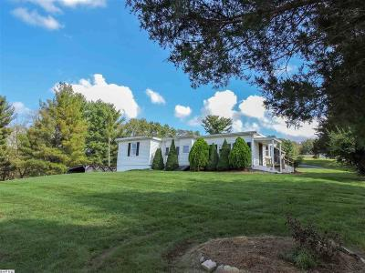 Rockingham County Single Family Home For Sale: 4538 Snapps Creek Rd