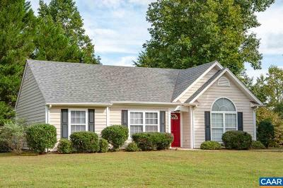 Charlottesville Single Family Home For Sale: 1744 Winterberry Ct