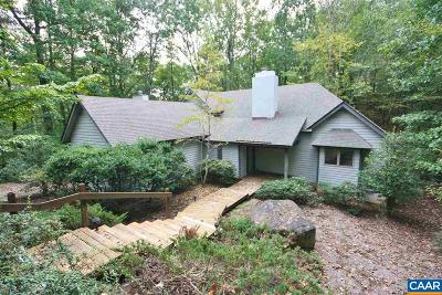 Nelson County Single Family Home For Sale: 445 Crawfords Climb