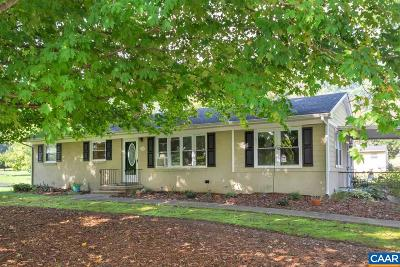 Albemarle County Single Family Home For Sale: 1752 White Hall Rd