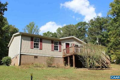 Nelson County Single Family Home For Sale: 94 Hughes Ln