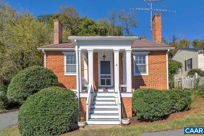 Albemarle County Single Family Home For Sale: 180 Jackson St