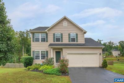Fluvanna County Single Family Home For Sale: 170 Justin Dr