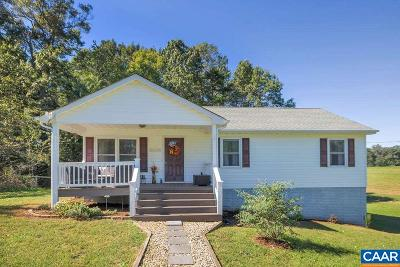 Fluvanna County Single Family Home For Sale: 6167 Rolling Rd