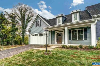 Charlottesville Single Family Home For Sale: 7 Lot Marin Ct