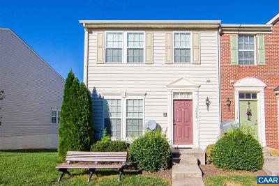 Albemarle County Townhome For Sale: 1536 Montessori Terr