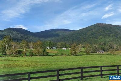 Albemarle County Farm For Sale: 7284 Blackwells Hollow Rd