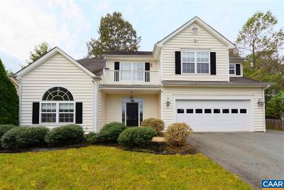 Charlottesville Single Family Home For Sale: 479 Rolling Valley Ct