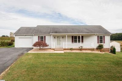 Stuarts Draft VA Single Family Home For Sale: $244,000