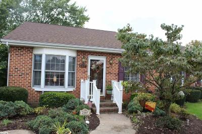 Harrisonburg, Mcgaheysville, Elkton, Bridgewater, Broadway Townhome For Sale: 2397 Meadow Ct
