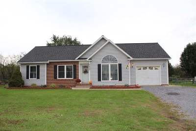 Bridgewater VA Single Family Home For Sale: $227,900