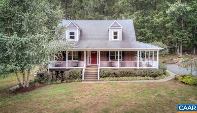 Charlottesville Single Family Home For Sale: 2959 Martin Kings Rd