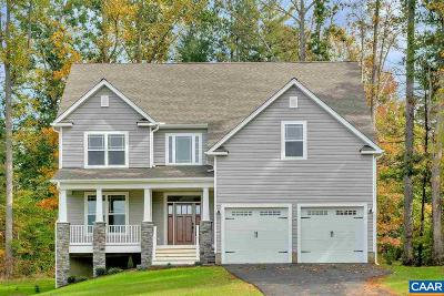 Albemarle County Single Family Home For Sale: Forest Glen Dr #Lot 5