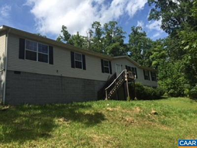 Nelson County Single Family Home For Sale: 465 Lonesome Pine Rd