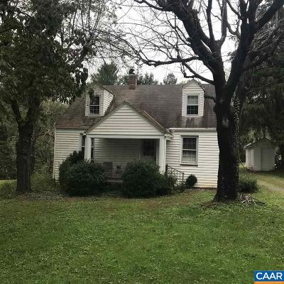 Albemarle County Single Family Home Pending: 780 Owensville Rd