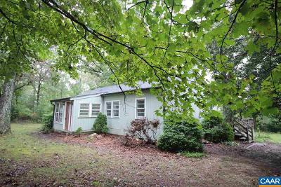 Fluvanna County Single Family Home For Sale: 6843 Venable Rd