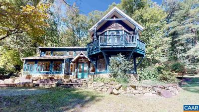 Albemarle County Single Family Home For Sale: 3435 Carrs Rdg