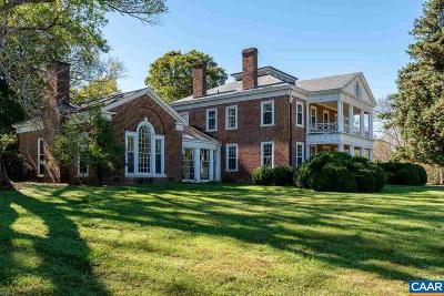 Scottsville VA Single Family Home For Sale: $3,250,000