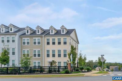 Albemarle County Townhome For Sale: 905 Stonehenge Way