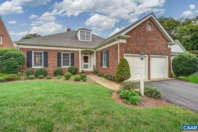 Albemarle County Single Family Home For Sale: 3510 Wedgewood Ct